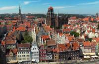Zobacz panoramę Gdańska z koła widokowego na Wyspie Spichrzów
