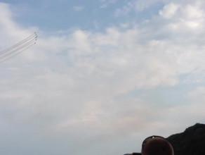 Pokaz grupy akrobatycznej Breitling Jet Team