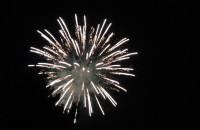 Pokaz fajerwerków po koncercie Kayah