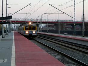 Przejazd pociągu bez zatrzymania przez przystanek Gdańsk Lipce