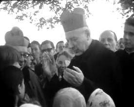 Przyjazd kard. Wyszyńskiego do Gdańska w 1966 roku