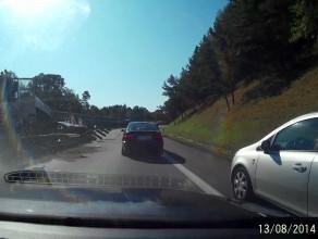 Wypadek na obwodnicy - cztery auta uszkodzone