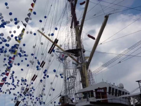 Balony w górę! Ceremonia otwarcia zlotu żaglowców