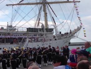 Ceremonia otwarcia zlotu żaglowców w Gdyni