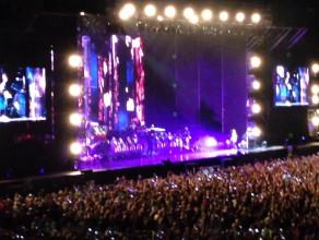 Justin kończy koncert na PGE Arenie