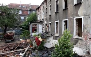 Rozbiórka kamienicy przy ul. Do Studzienki