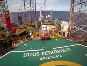 Platforma wiertnicza Lotos Petrobaltic od środka