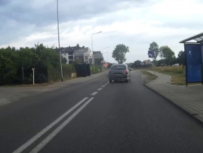 Wyprzedzanie rowerzystów podczas lipcowej Masy Krytycznej w Gdyni