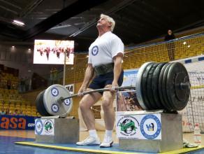 Jan Łuka podniósł 425 kg!