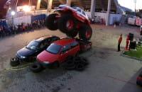 Pierwszy polski monster truck w akcji