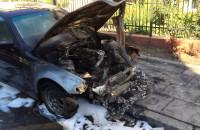 Spalone pojazdy na ul. Śniadeckich w Gdańsku
