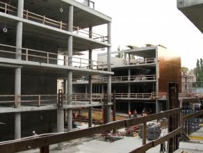 Postępy w budowie dworca w Sopocie