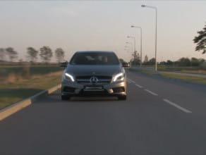 Mercedes A45 AMG. Eksplozja adrenaliny