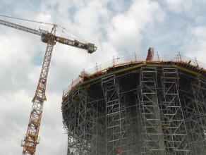 Budowa wieży ciśnień z tarasem widokowym na Wyspę Sobieszewską