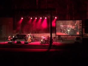 Włodek Pawlik Trio podczas koncertu w Operze Leśnej