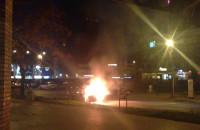 Płonie samochód na ul. Rajskiej