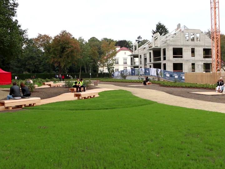 Nowa część Parku Oliwskiego oraz ogólnodostępna przestrzeń wokół budynków Doraco