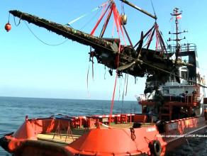 Tak podnoszono bombowiec z dna Bałtyku