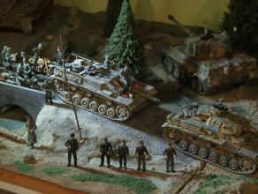 Modele czołgów lekarza z Gdańska