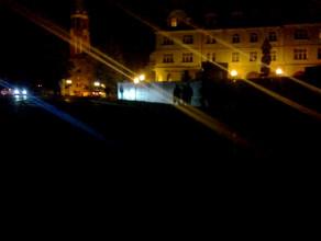 Sopot ciemności na ul. Podjazd