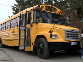 Amerykański autobus szkolny