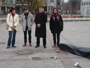 Nietypowa konferencja kandydata PiS w Sopocie