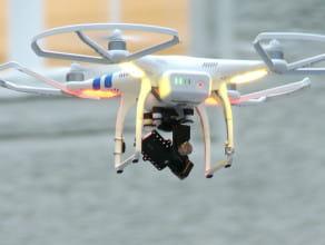 Pokaz obsługi dronów na PG