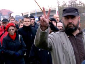 Powyborcza manifestacja w Gdańsku