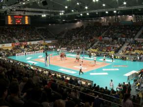 Gdańscy siatkarze Lotosu Trefla wygrywają w Gdynia Arena z Asseco Resovią
