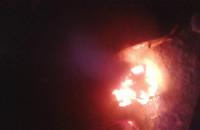 Spłonął samochód - Orunia Górna