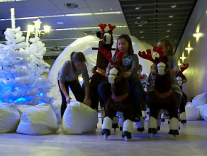 Wielka Fabryka Świętego Mikołaja w Amber Expo
