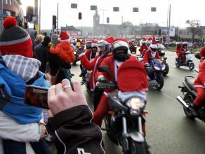 Mikołaje na motocyklach 2014