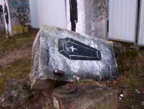 Dawny cmentarz w Brzeźnie
