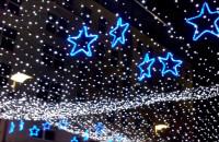 Iluminacje świąteczne na Placu Kaszubskim w Gdyni