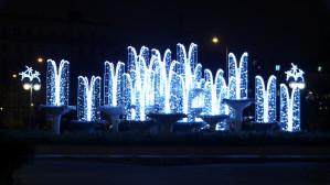 Świąteczne oświetlenie w Gdyni