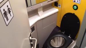 Toaleta w Pendolino