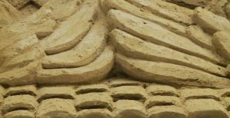 Szopka z 60 ton piasku w Oliwie