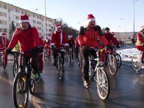 Mikołaje na rowerach 2014