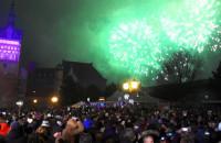 Sylwestrowa noc na Targu Węglowym w Gdańsku
