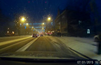Opady śniegu w Sopocie