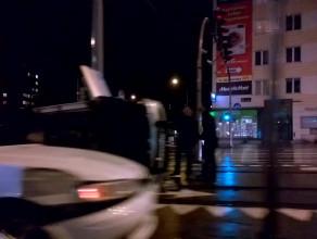 Wypadek na skrzyżowaniu Miszewskiego i Grunwaldzkiej