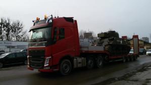 Sherman jedzie do Muzeum II Wojny Światowej