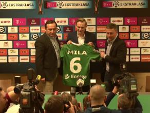 Sebastian Mila zaprezentowany jako piłkarz Lechii Gdańsk