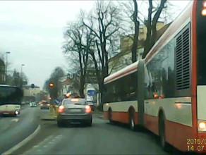 Przepychanka z autobusem