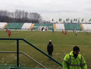 Sparing piłkarzy Lechii Gdańsk na stadionie przy ul. Traugutta