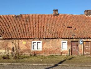 Stary budynek w Oliwie do rozbiórki