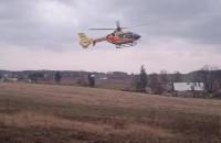 Wypadek w stadnine koni w Rębiechowie