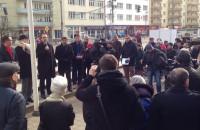 Pikieta przeciwko likwidacji kardiologii w Gdyni