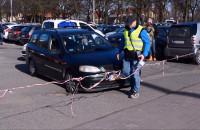 Dziki parkingowy wyłudza opłaty w Brzeźnie