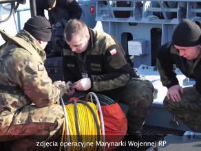 Akcja usuwania min morskich w Gdyni